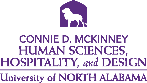 College of Education and Human Services - Human Sciences and Hospitality Design Logo - Purple - Version 5
