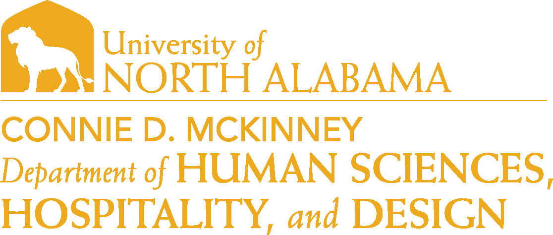 College of Education and Human Services - Human Sciences and Hospitality Design Logo - Gold - Version 6