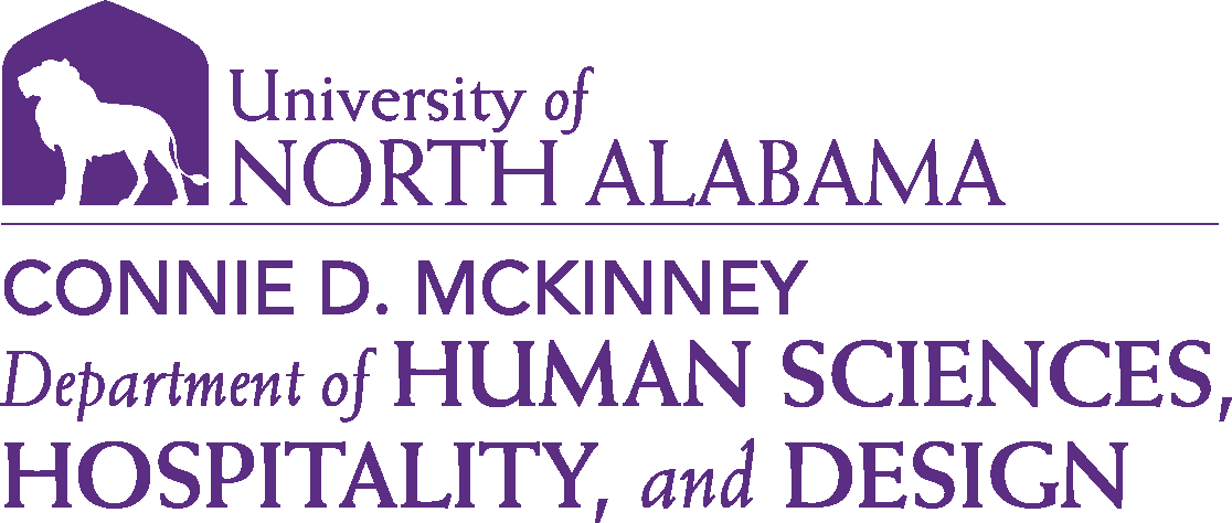 College of Education and Human Services - Human Sciences and Hospitality Design Logo - Purple - Version 6