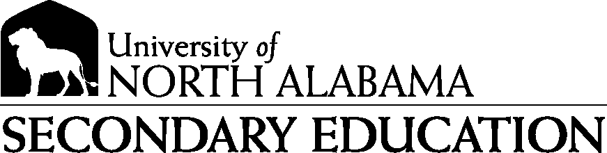 College of Education and Human Services - Secondary Education Logo - Black - Version 1