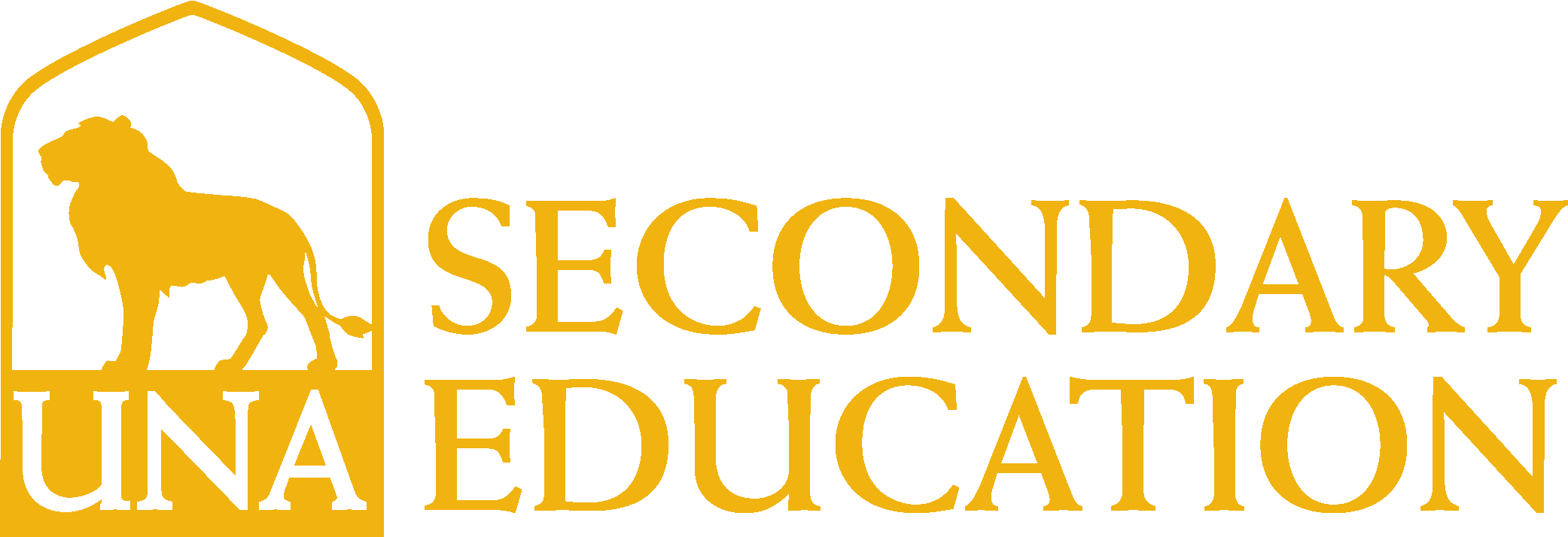 College of Education and Human Services - Secondary Education Logo - Gold - Version 3