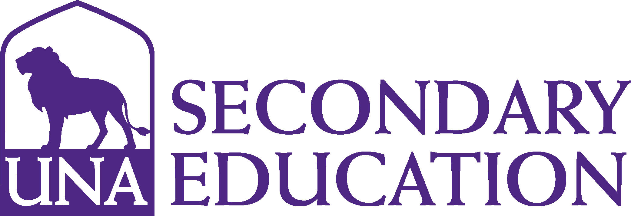 College of Education and Human Services - Secondary Education Logo - Purple - Version 3