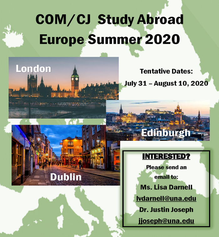Study Abroad in Europe 2019