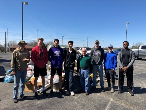 AIChE joins 2020 Florence Clean-Up Day