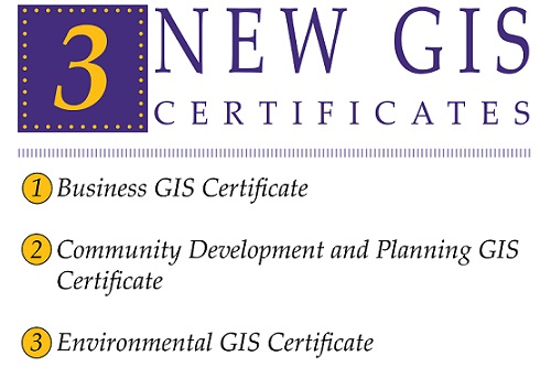 Topical GIS Certificates Now Offered