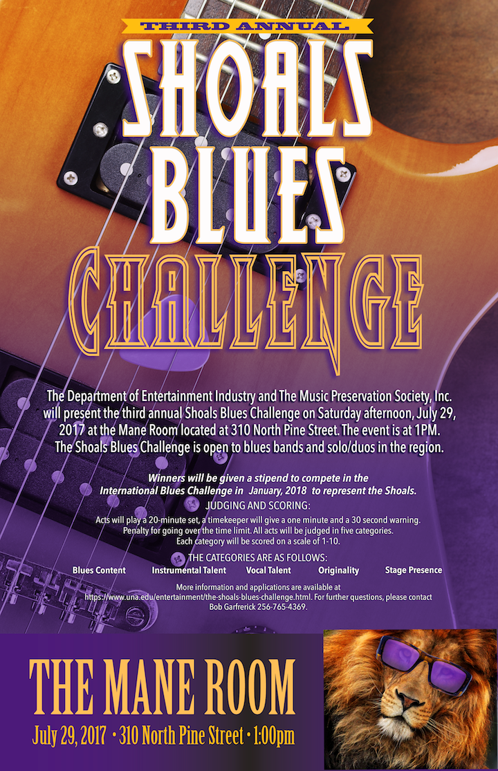 Blues Challenge Flyer