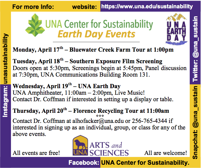 UNA Earth Week