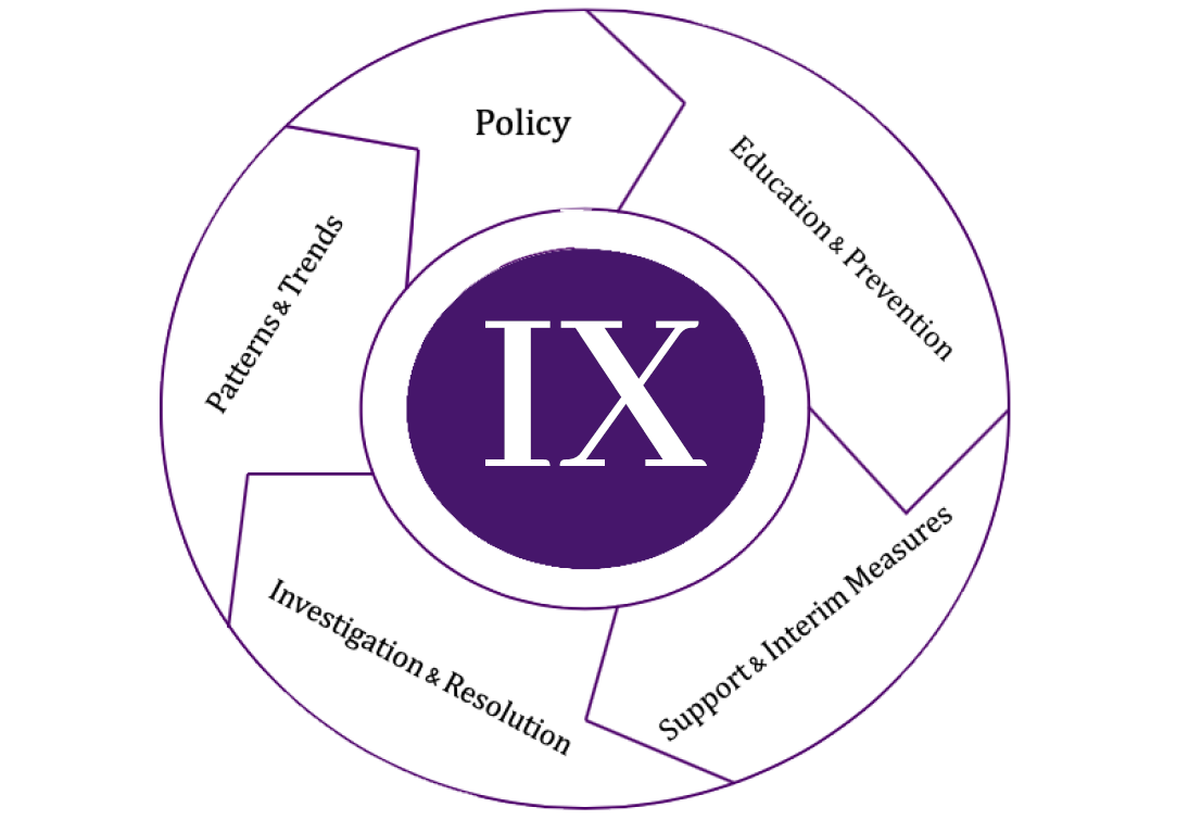 Title IX Model Graphic